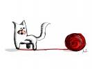 Kotě a myš